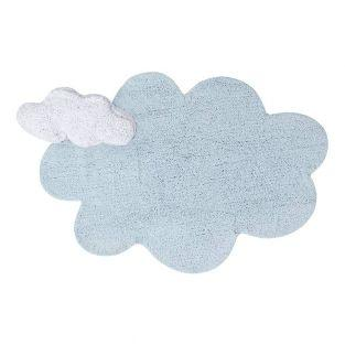 Cotton carpet with Cloud relief shape...