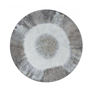 Round cotton carpet Gradient - blue -...