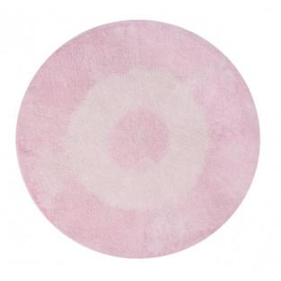 Round cotton carpet Gradient - pink -...