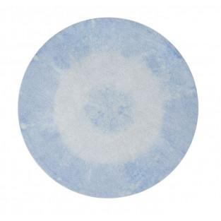 Round cotton carpet Gradient - light...
