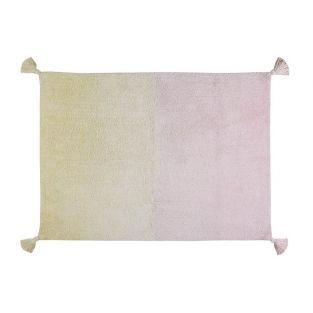 Baumwollteppich mit Farbverlauf -...