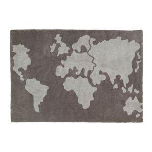 Cotton carpet World pattern - 140 x 200