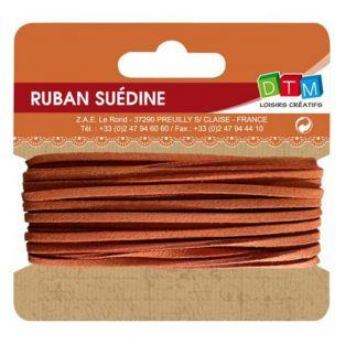 Suede ribbon 5 m - Orange