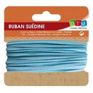 Suede ribbon 5 m - Light Blue