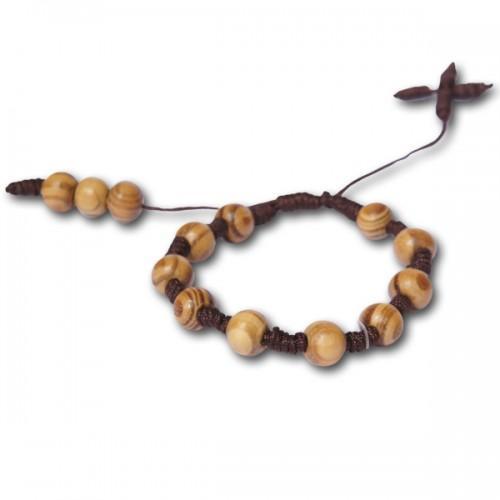 Wooden Bracelet-Rosary