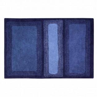 Tappeto in cotone Alaska - blu -140 x...