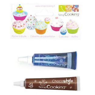 Liquid food coloring tube 20 g Blue +...