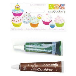 Liquid food coloring tube 20 g Green...