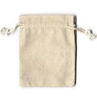 4 bolsas de lino de 9 x 11,5 cm