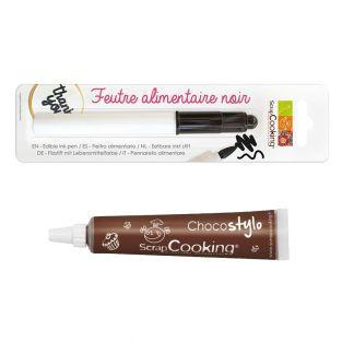 Food colouring pen Black + Edible...