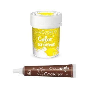 Lebensmittel-Farbstoff Aroma gelb /...