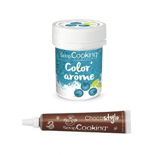 Colorant alimentaire bleu arôme...