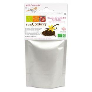 Gousses de Vanille poudre Bio