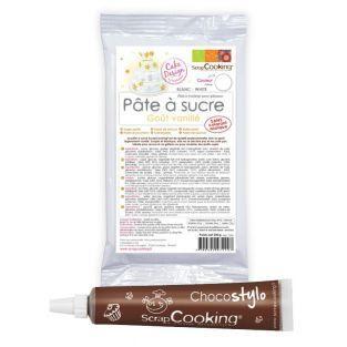 White sugarpaste vanilla flavour +...
