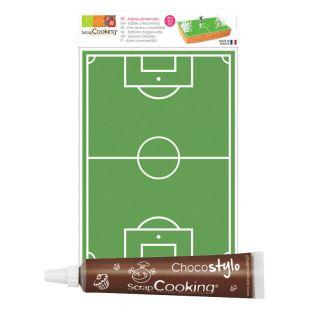 Football field wafer sheet...