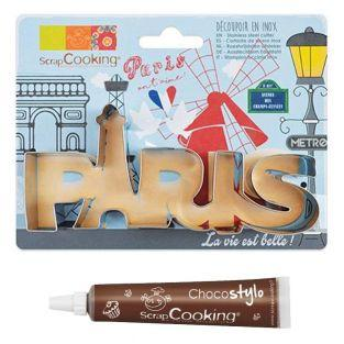Stainless steel cookie cutter Paris +...