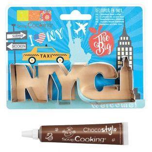 Découpoir à biscuits en inox New-York...