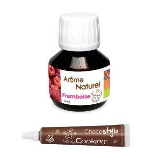 Natürliches Himbeeraroma - 50 ml +...