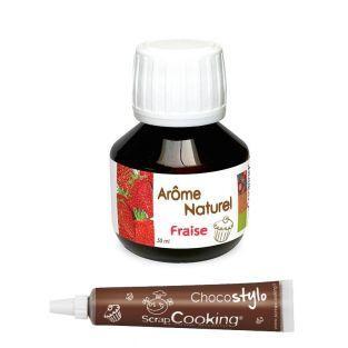 Natürliches Erdbeeraroma - 50 ml +...