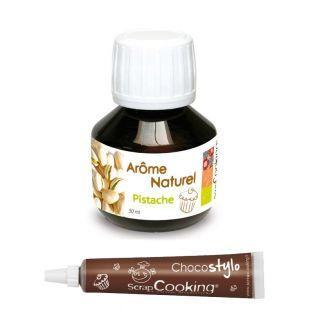 Arôme alimentaire naturel Pistache +...