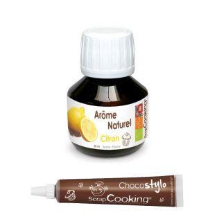 Arôme alimentaire naturel citron 50...