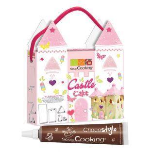 Kit découpoirs Castle Cake + Stylo...
