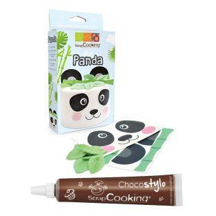 Kit Déco azyme Panda + Stylo chocolat
