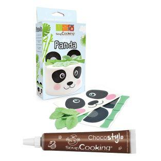 Panda edible wafer...