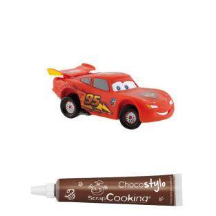 Figurine pour gâteau Cars Lightning...