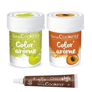 2 Food Colourings with apple &...
