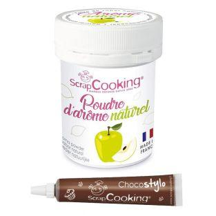 Natural flavour powder 15 g Apple +...