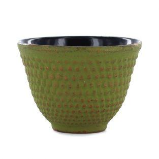 Gusseisen tasse - grün & gold
