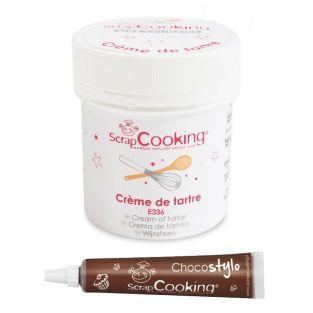 Crème de tartre + Stylo chocolat