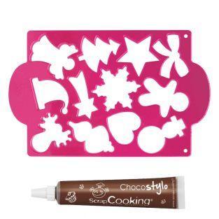 Plaque découpoirs à biscuits Noël + 1...