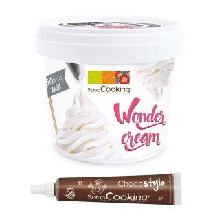 Wonder cream blanche 150 g + 1 Stylo...