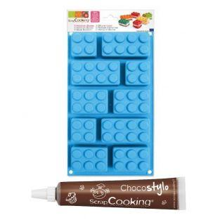 Silicone Cake Mould by Lego...