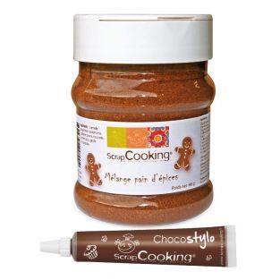 Lebkuchenmischung + Schokolade aus...
