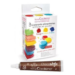 3 künstliche Farbstoffe - Food -...