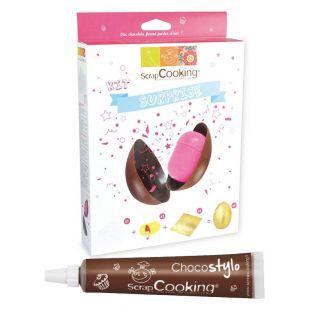 Kit oeuf de Pâques en chocolat...