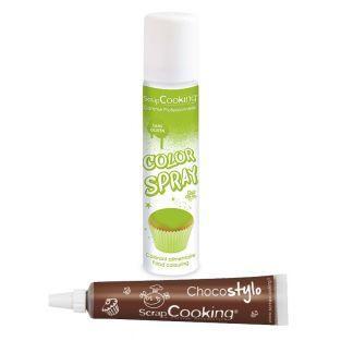 Spray à pâtisserie vert 75...
