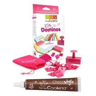 Kit di biscotti Domino + penna...