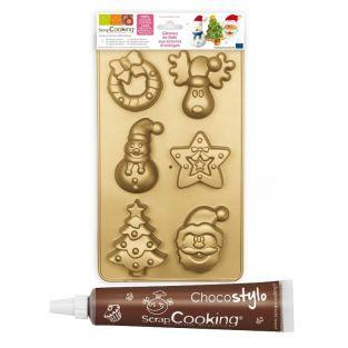 Christmas cake mold ScrapCooking +...
