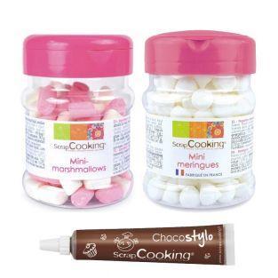 Mini Baisers und Mini Marshmallows +...
