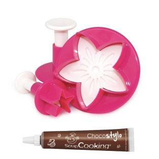 Sugarcraft cutters star leaf flower +...