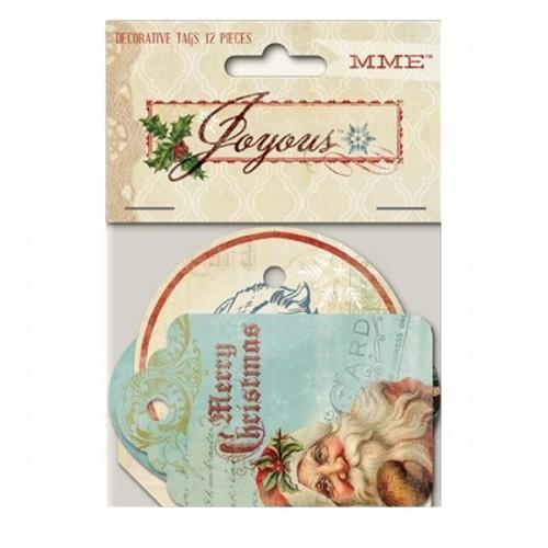 Decorative tags - Christmas Vintage