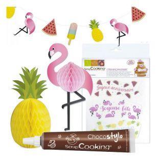 Tropical Birthday Kit Wafer...