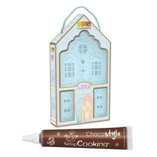 Cortador de galletas Pequeña casa +...
