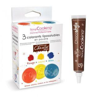 Colorantes liposolubles...