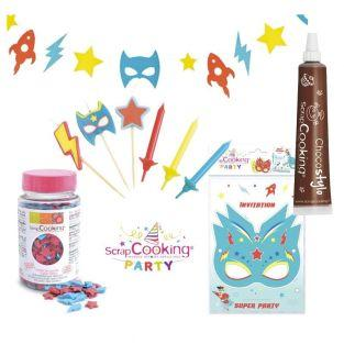 Superhero Birthday Kit + Edible...