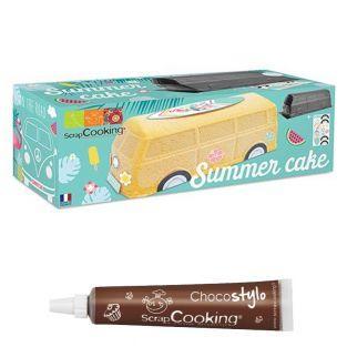 Kit Summer cake + 1 Stylo chocolat...